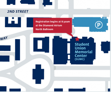 UA campus map